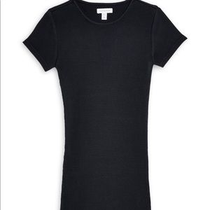 NWT Topshop Ribbed Jersey Tunic